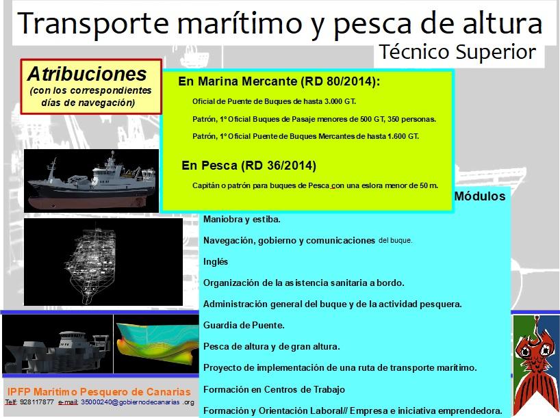 Instituto De Fp Marítimo Pesquero De Canarias Técnico