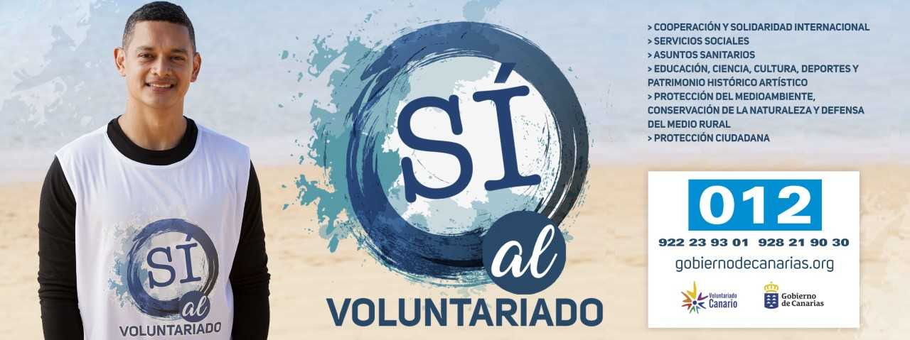 Sí al voluntariado
