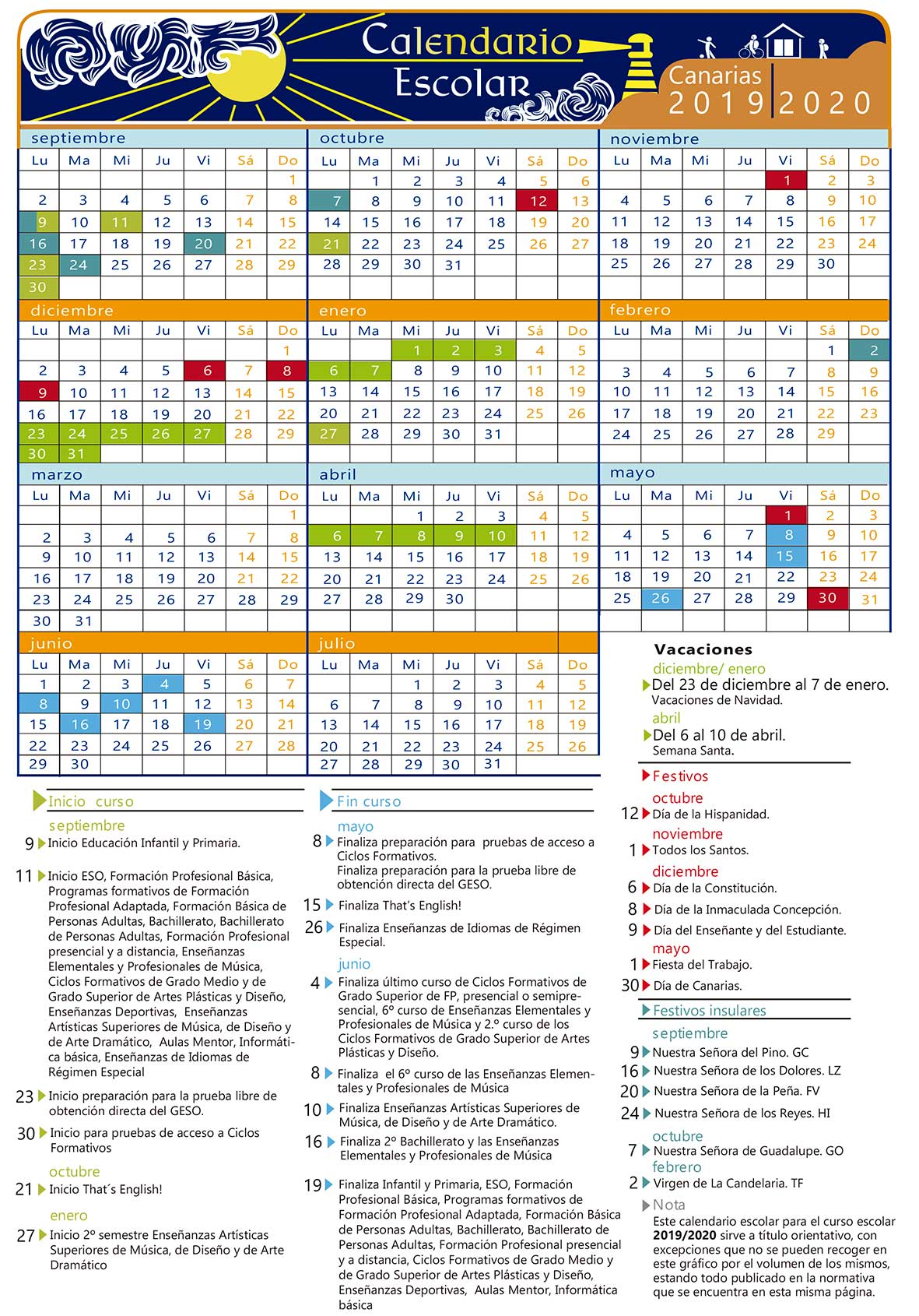 Calendario 2019 Escolar 2020 Madrid.Calendario Escolar Centros Consejeria De Educacion