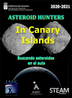 Asteroid Hunters in Canary Islands, curso 2020-2021