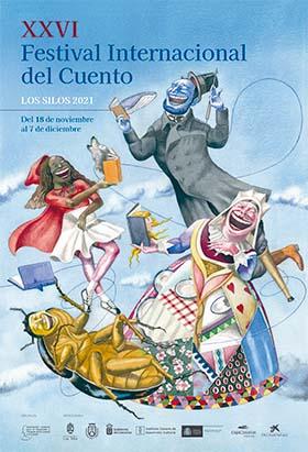 Cartel del XXVI Festival Internacional de Cuentos de Los Silos.