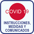 Instrucciones, medidas y comunicados excepcionales: COVID-19.