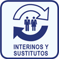 Interinos y sustitutos.