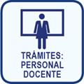 Trámites: personal docente. Oficina virtual del personal docente