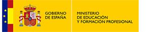 Escudo del Ministerio de Educación y Formación Profesional.